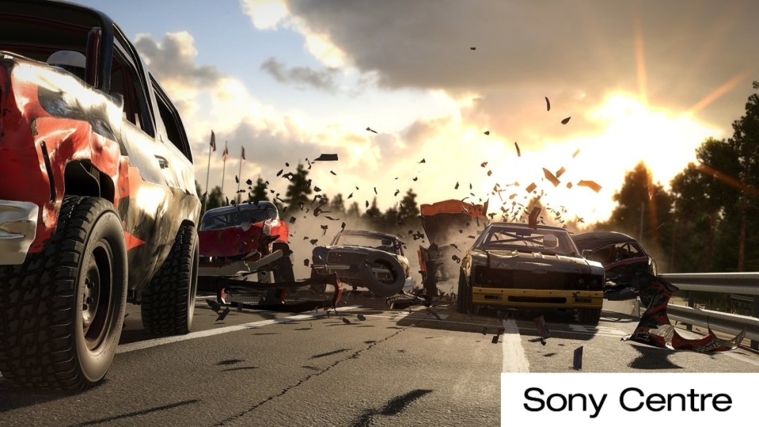 Игра Wreckfest: Drive Hard. Die Last для PlayStation 4