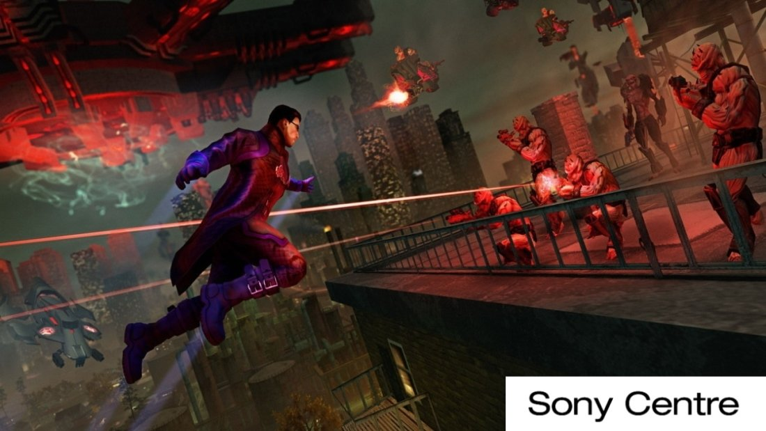 Игра Saints Row IV: Re-Elected для Nintendo Switch
