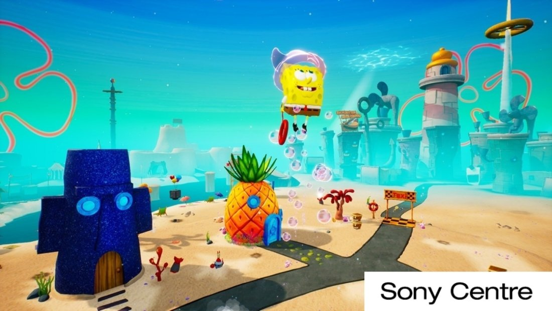 Игра SpongeBob SquarePants: Battle For Bikini Bottom - Rehydrated для PlayStation 4