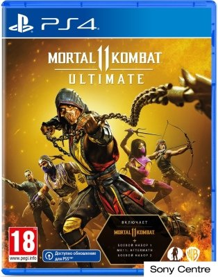 Игра Mortal Kombat 11 Ultimate для PlayStation 4