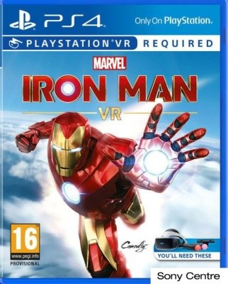 Игра Marvel's Iron Man VR для PlayStation 4